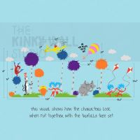 Children Wall Decals Wall Sticker Lorax Truffula by ...