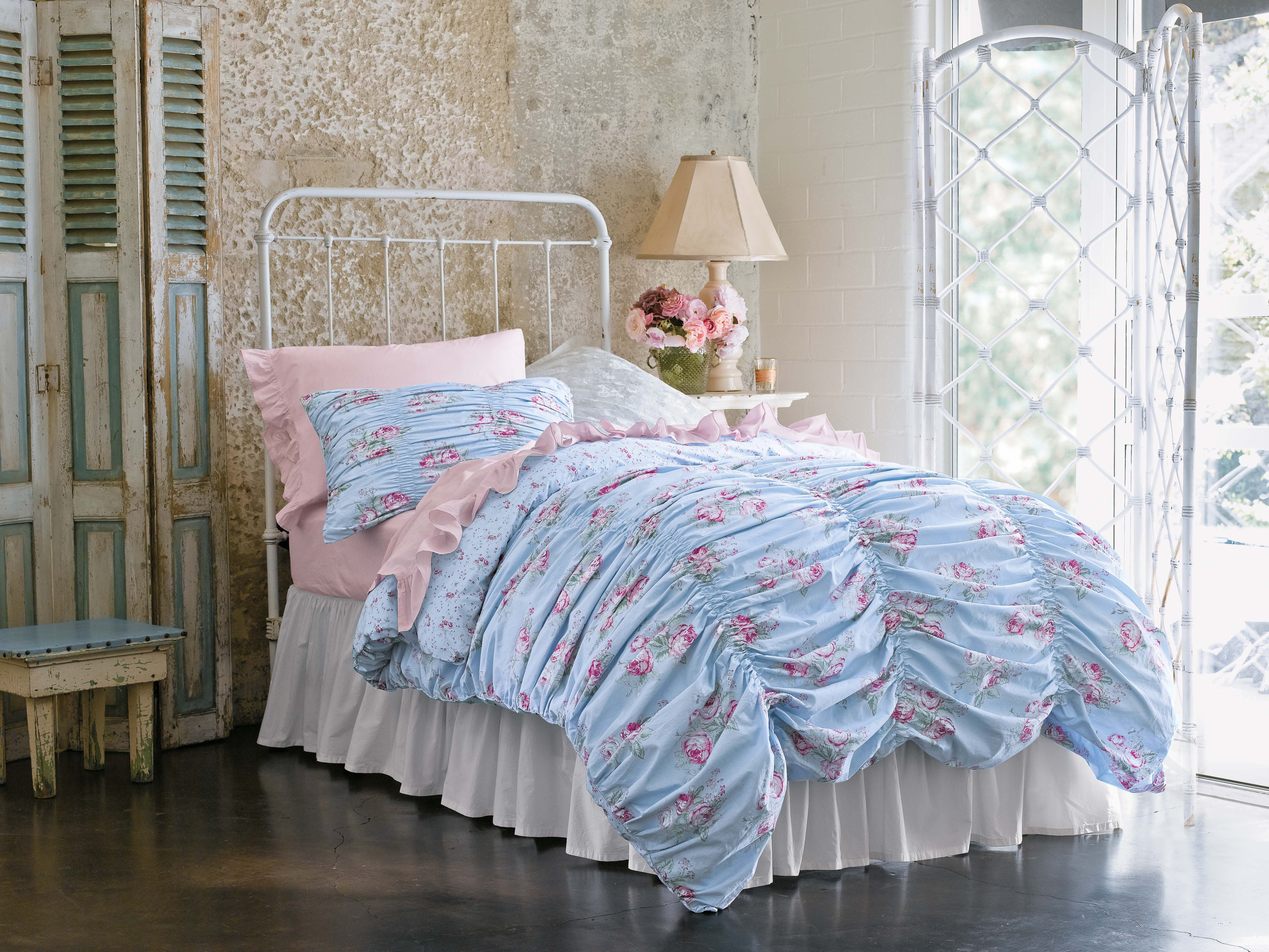 Target Queen Quilt Cover Simply Shabby Chic Cabbage Rose Rouged Duvet Set 79 99