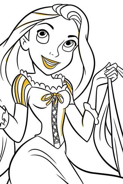 dibujos de princesas para pintar trendy dibujos de