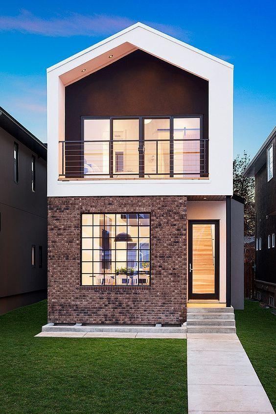 Klein \ fein Einfamilienhaus #KOLORAT #Haus #Fassaden - fassadenfarbe haus