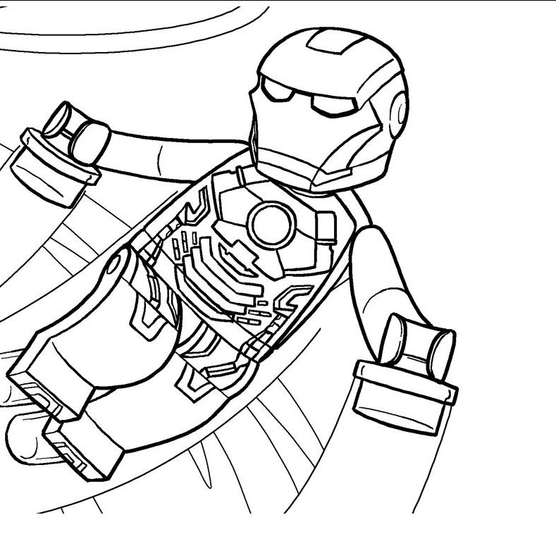 Lego Marvel Printable Coloring Pages By Diana Aaa Pinterest