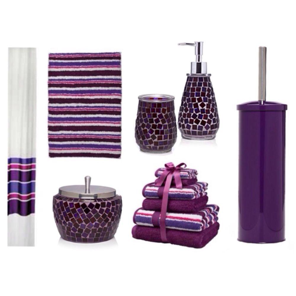 Plum bathroom accessories for Plum bathroom ideas