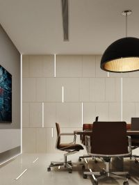 Minimalist design | office ideas| office lighting | wall ...