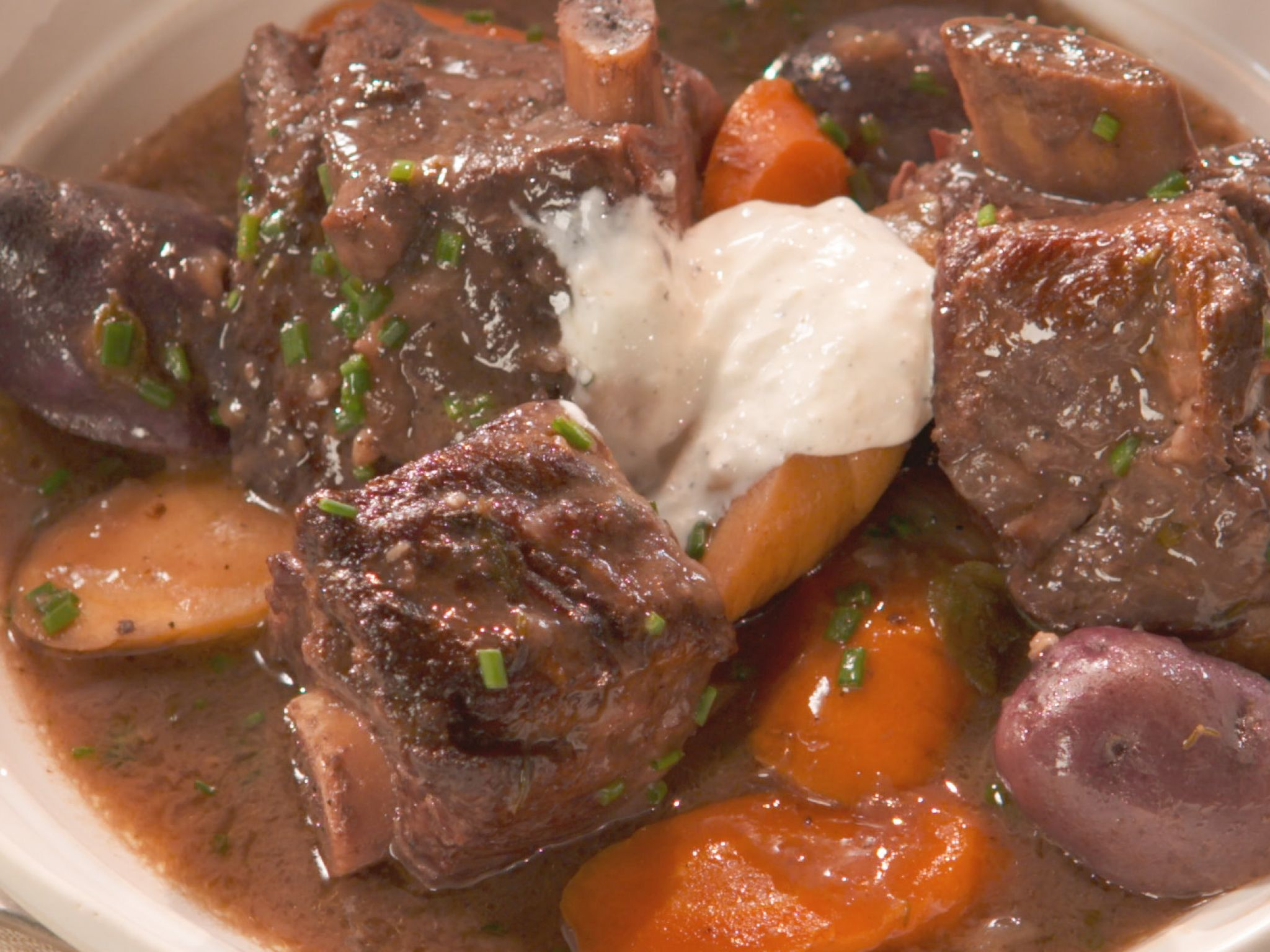 Food Network Farmhouse Rules Recipes Short Rib Stew With Vegetables And Port Recipe Short