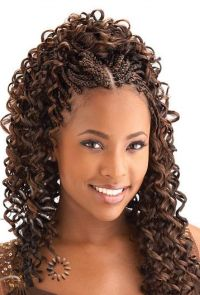 micro braids hairstyles - Google Search | Cute | Pinterest ...