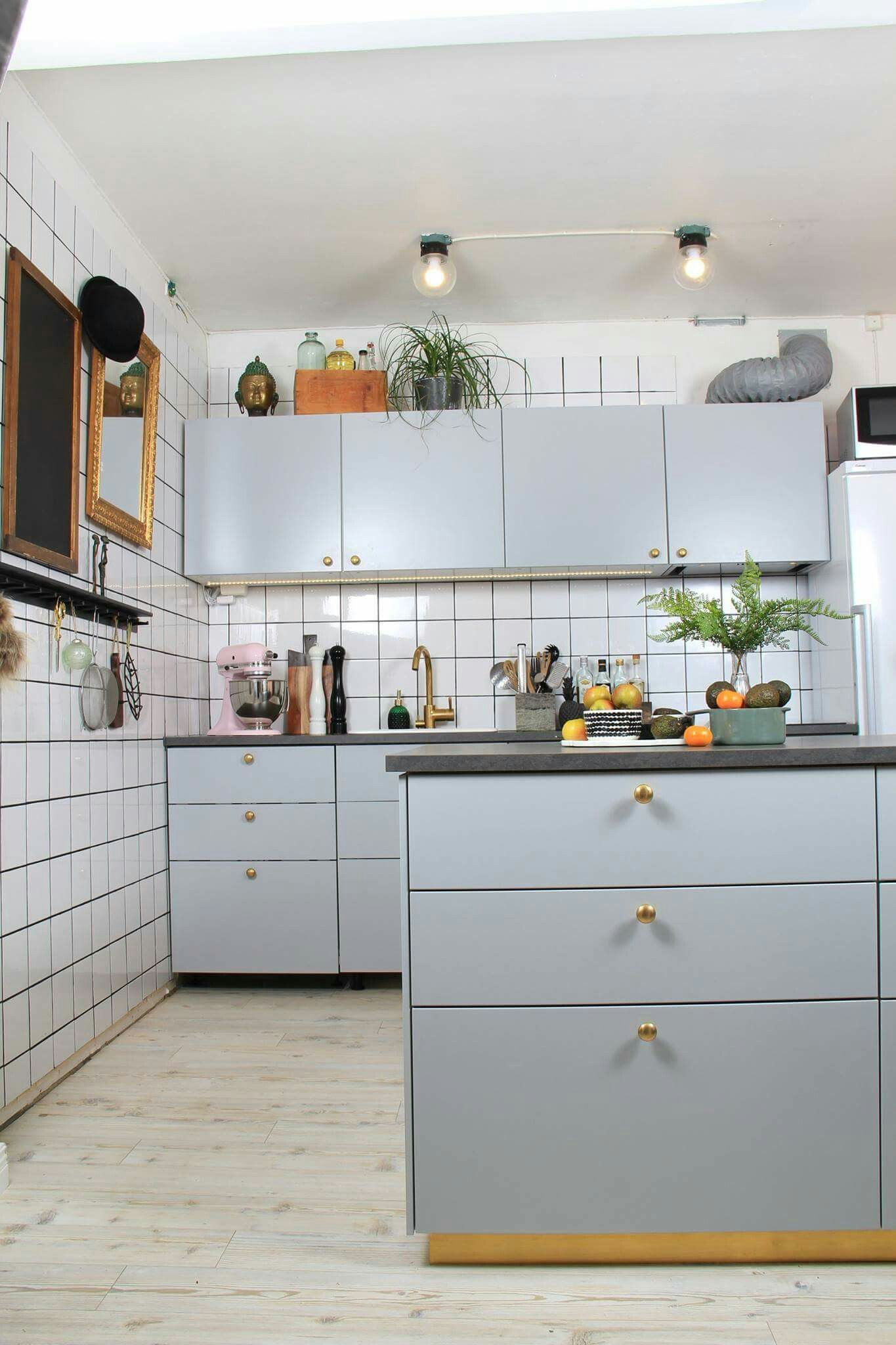 Ikea Küche Veddinge Ikea Kitchen Veddinge Grå Köksinspo Pinterest Kök
