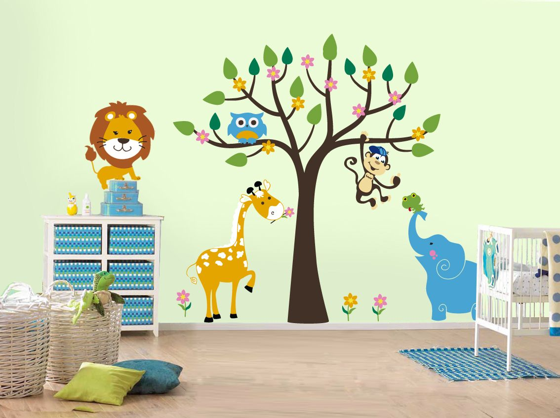 Wall painting kids room design cute butterfly wall stickers for baby baby wallpainting pinterest kids rooms