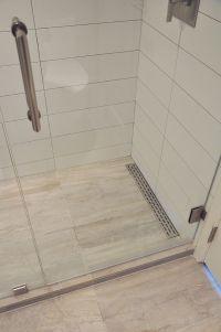 Linear shower floor drain    Remodeling Ideas   Pinterest ...