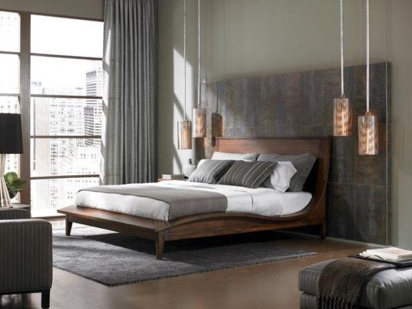 Schlafzimmer Einrichtung-modernes Design-Ideen Beleuchtung - schlafzimmereinrichtung ideen