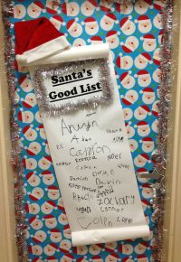 Classroom door for Christmas | Classroom Christmas ...