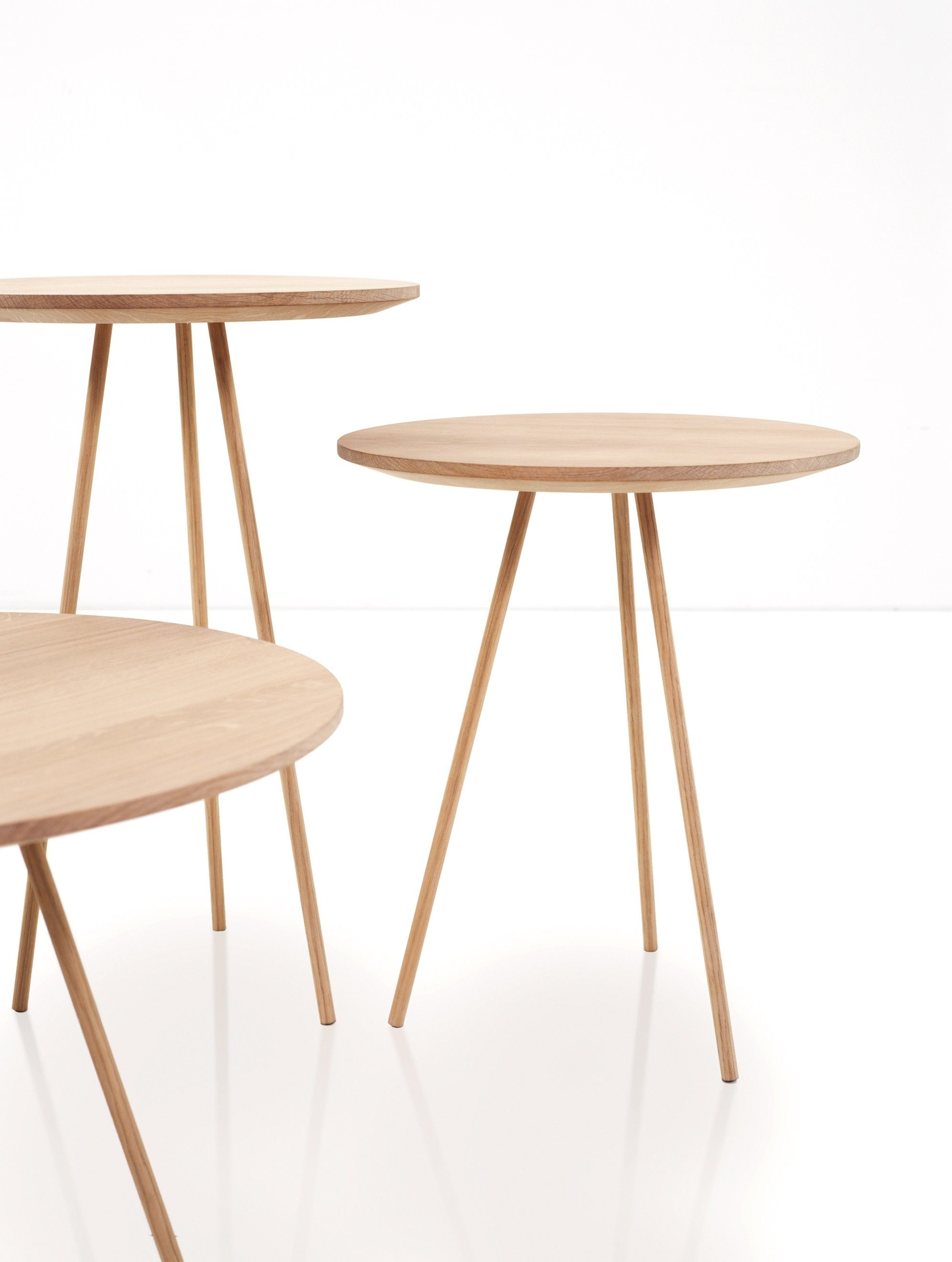 The minimalist drip side table was designed by bernhard m ller for his label more as a single coffee table in your living room or as a side table combined