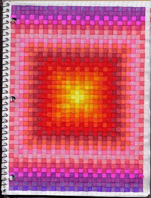 how to make graph paper on word