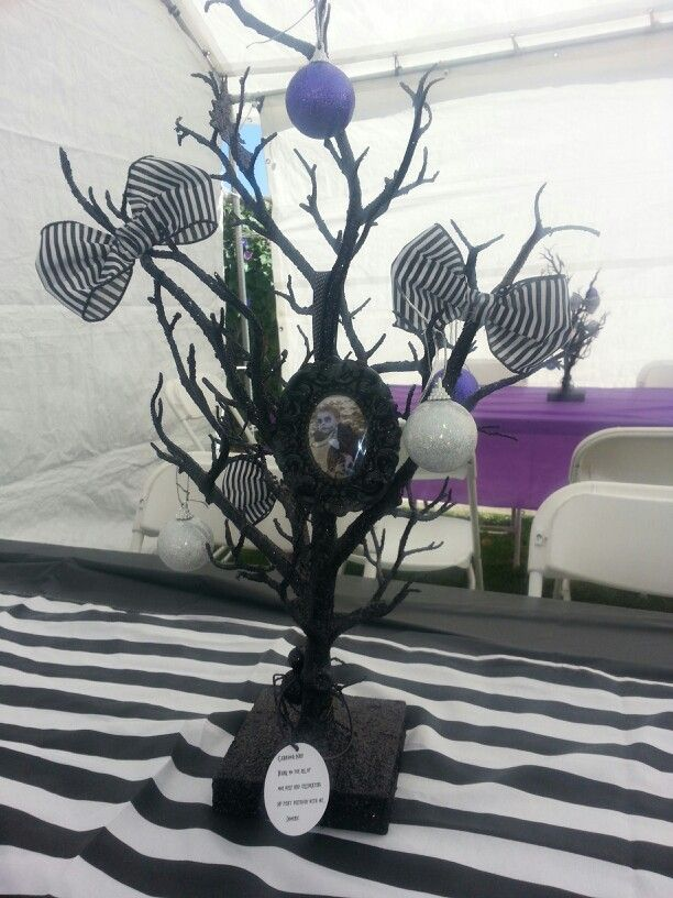 Nightmare before christmas centerpieces Dominicu0027s 1st birthday - nightmare before christmas baby shower decorations