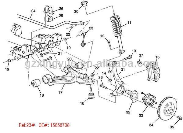 96 lincoln continental engine diagram