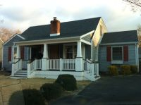 My very own 1950's cape cod with a craftsman style front ...