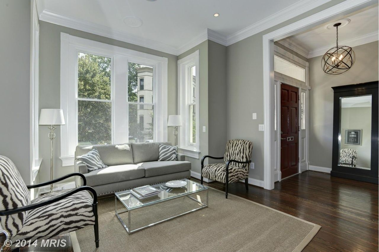 Grey Painted Rooms Dc8451535 4 Gray Wall Color Pinterest