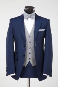 wedding suit with a bow tie, vintage wedding suit, bow ...