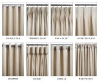 types of curtains and draperies | Decorating Tips ...