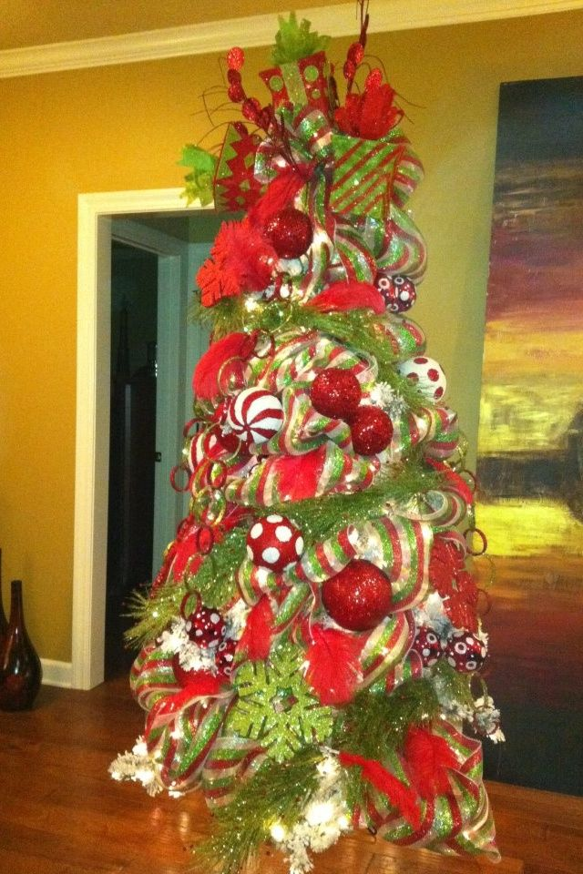 Beautifully Decorated Christmas Trees Christmas tree with - beautiful decorated christmas trees