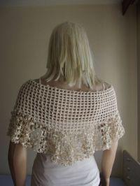 Crochet Shawl (no pattern) Good for weddings! | Fashion ...