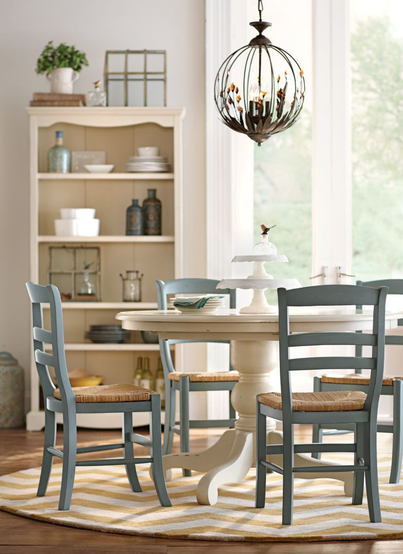 kitchen table and chairs Round dining table perfect for breakfast lunch and dinner HomeDecorators