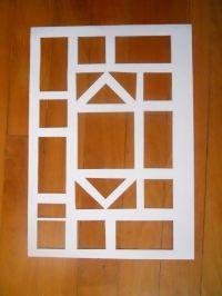 Easy Kids Craft - Stain Glass Window - Possible shape idea ...