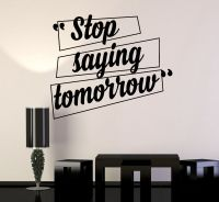 Vinyl Wall Decal Motivation Quotes Office Home Inspiration ...