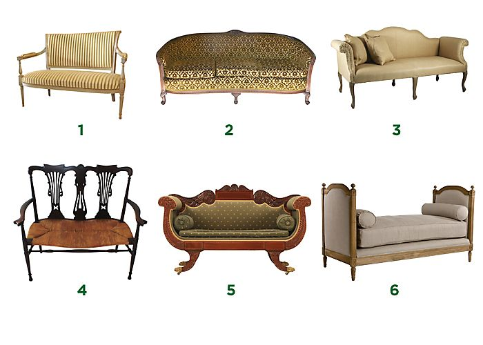A Guide to Types and Styles of Sofas \ Settees 1) Settee 2 - types of living room chairs
