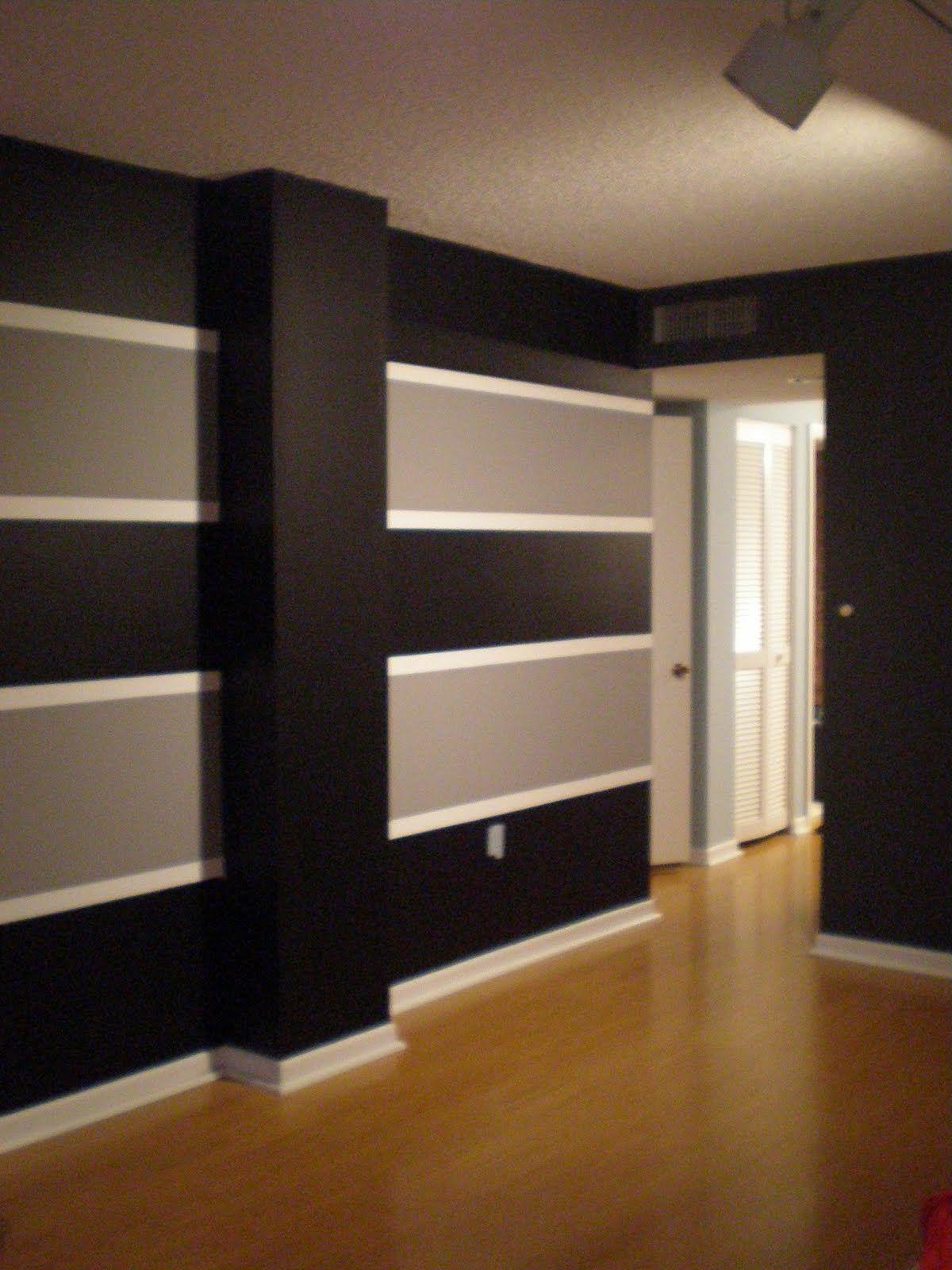 Bedroom Paint Designs Stripes