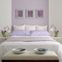 Purple bedroom ideas | Lilac bedroom, Colour contrast and ...