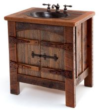Rustic Bathroom Sinks on Pinterest | Old Western Decor ...