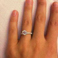 1.5 Carat Diamond Engagement Ring Thin Band 4 | Future ...