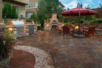 100's Outdoor Patio Design Ideas (BRICK, FLAGSTONE ...