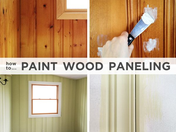 17+ Images About Painting Paneled Walls On Pinterest | Knotty Pine