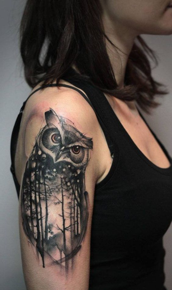 Tattoo Bilder Für Frauen Stylish Mystical Owl Tattoos For Women, New Animal Tattoos
