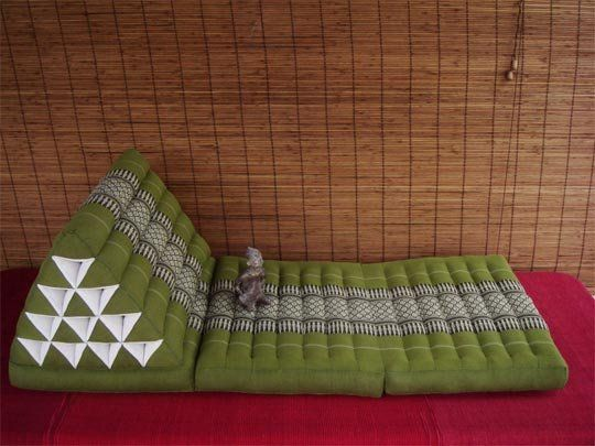 Thai Triangle Pillows Floor Seating For Crowds Floor