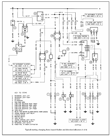 bmw e39 wiring diagrams lights