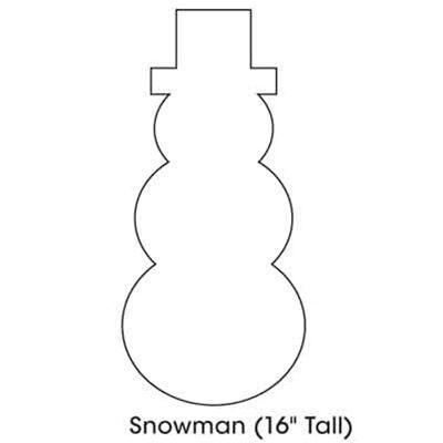 Cutout Snowman Search Results New Calendar Template Holiday - snowman template