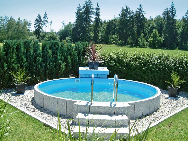 Bildergebnis für poolgestaltung stahlwandbecken Garten - poolgestaltung garten