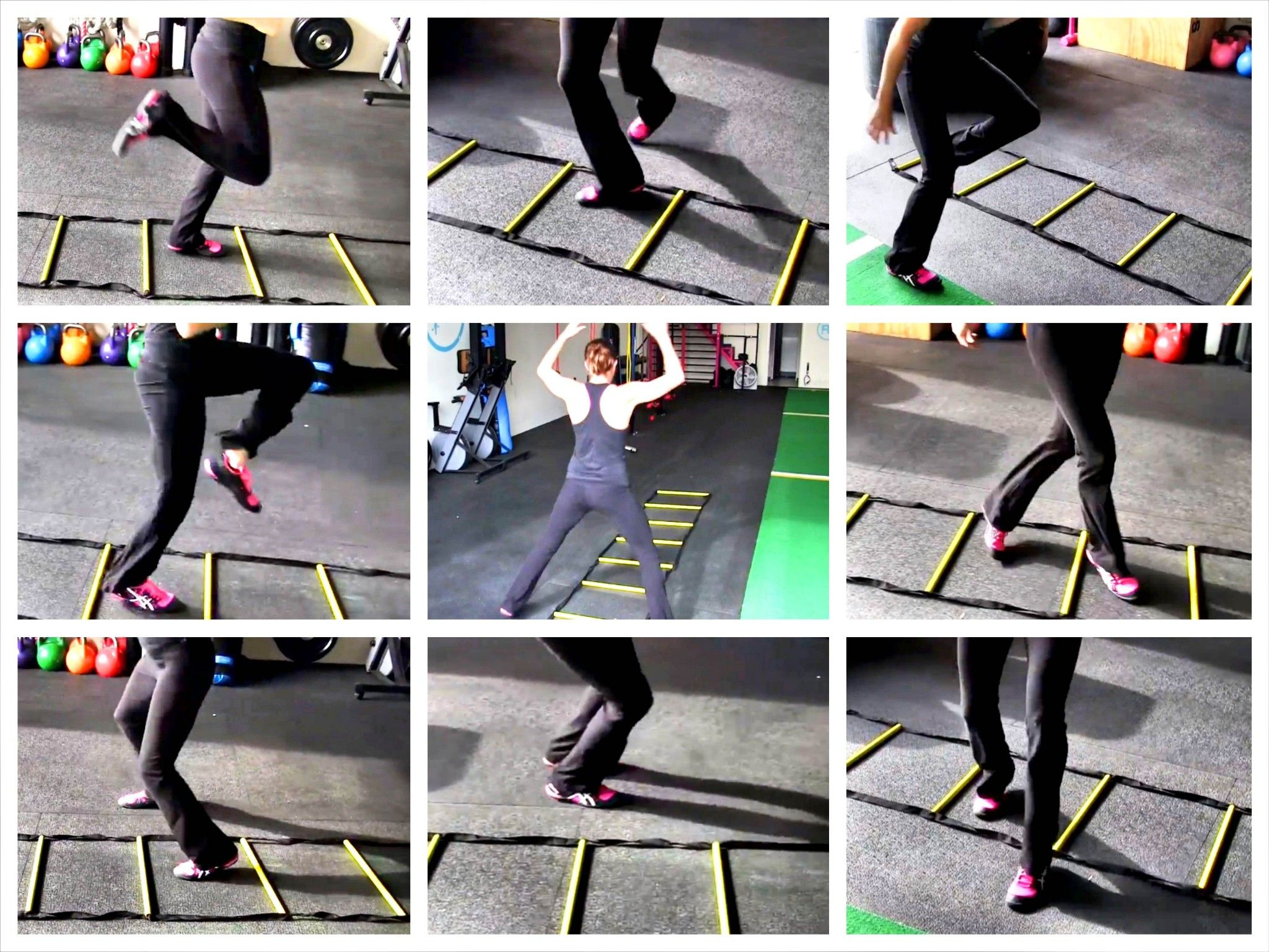 Try These Agility Ladder Drills To Improve Your Mind Body