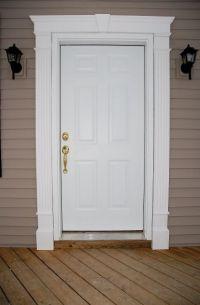 front doors for homes   doors this door also has a vinyl ...