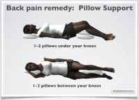 How To Sleep With Lower Back Pain ... your knees. If you ...
