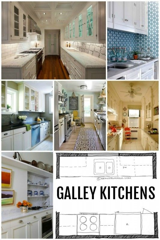 Popular Kitchen Layouts and How to Use Them Galley kitchens - galley kitchen design
