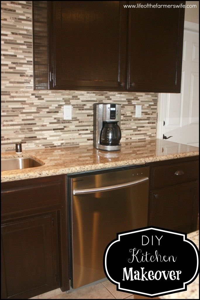 How To Stain Kitchen Cabinets Espresso Diy Staining Kitchen Cabinets Dark Espresso | For The Home