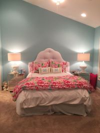 Lilly Pulitzer and pottery barn teen comforter with