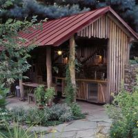 Garage And Shed Outdoor Kitchens Design, Pictures, Remodel ...