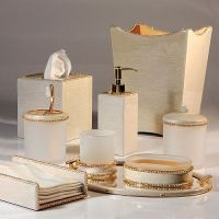 gold bathroom accessories sets | For the Home | Pinterest ...