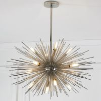 Mid-Century Modern Moonbeam Chandelier - 12-Light ...
