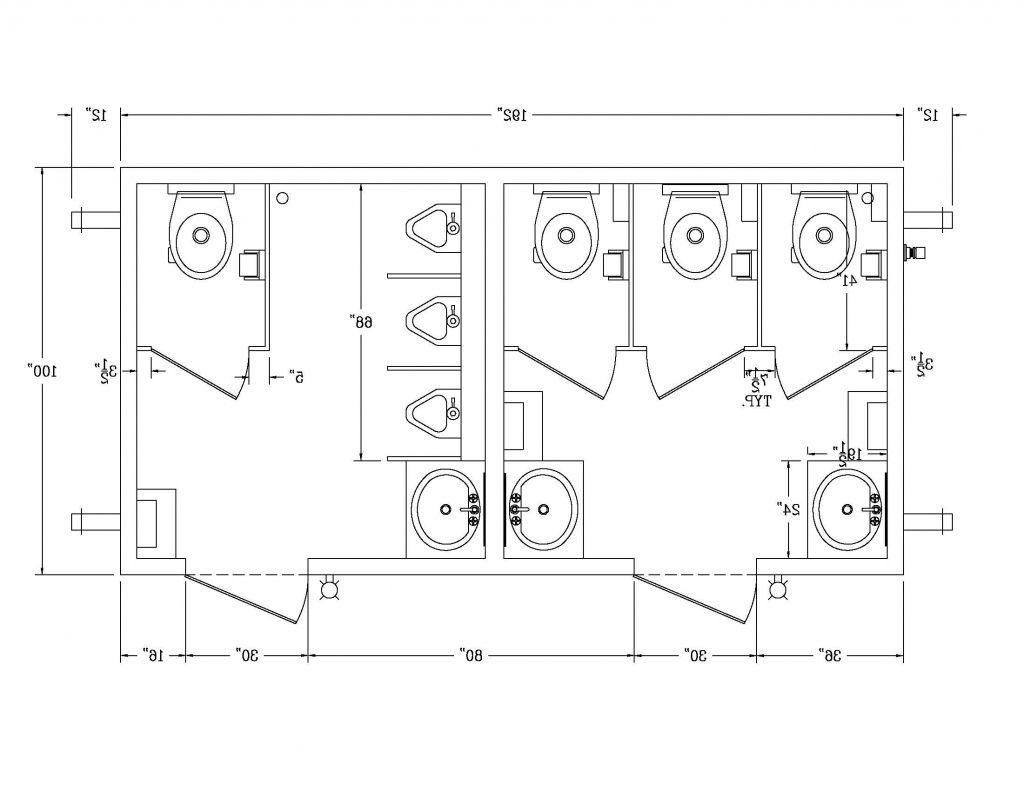 High Resolution Ada Bathroom Stall #11