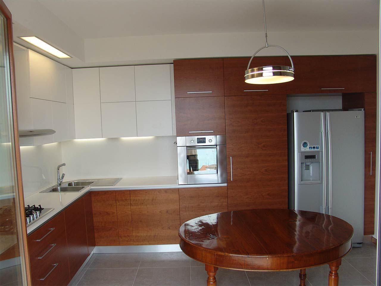 Cucina Moderna Ciliegio | Cucine Ciliegio Cucine Monoblocco Color ...
